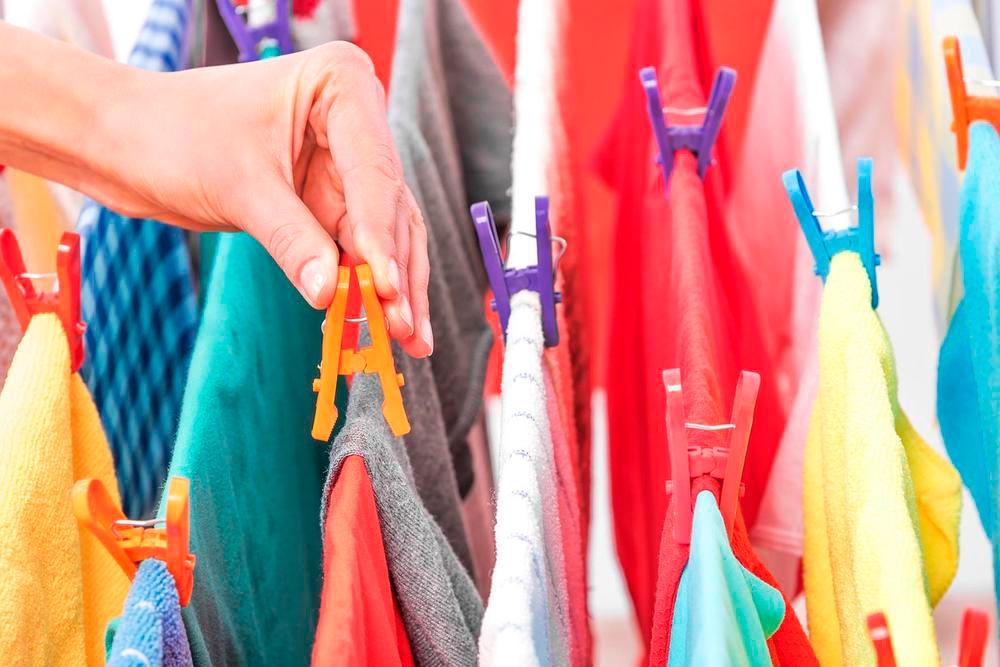 Truques para secar roupas em dias frios