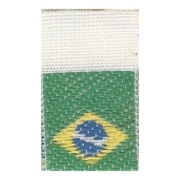 Etiqueta Bandeira do Brasil Bandeirinha