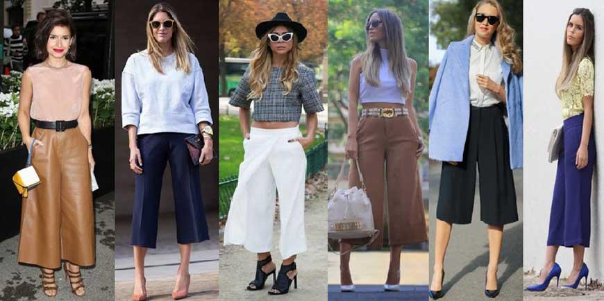 Moda 2015 - Pantacourt   Sansil Etiquetas Bordadas