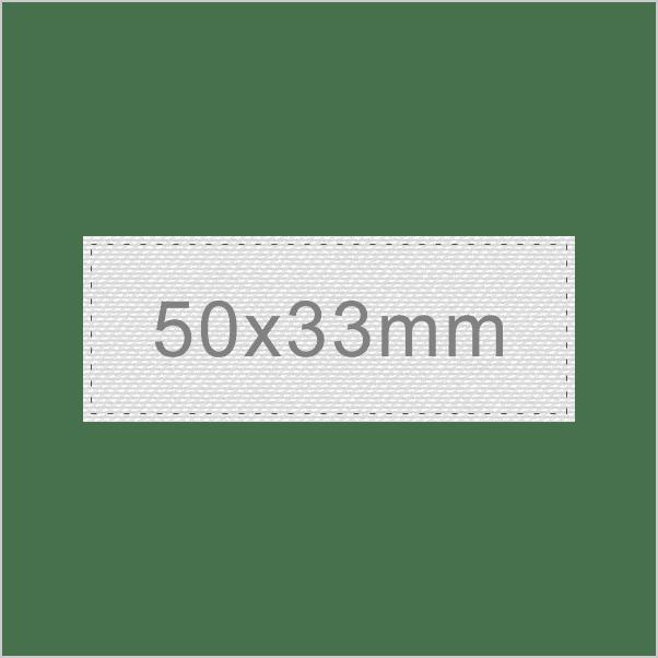 Personalizar Etiqueta 50x33mm | Sansil Etiquetas Bordadas