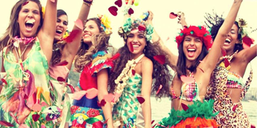 Moda Carnaval | Sansil Etiquetas Bordadas