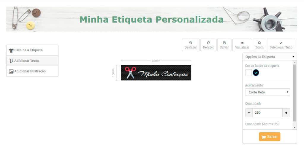 minha etiqueta personalizada sansil etiquetas bordadas